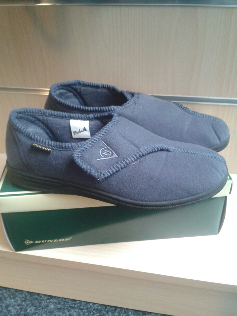 Pantoffel dunlop grijs mt 42 GZG 616