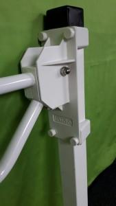 Toiletbeugel Linido met vloerbevestiging GZG 672