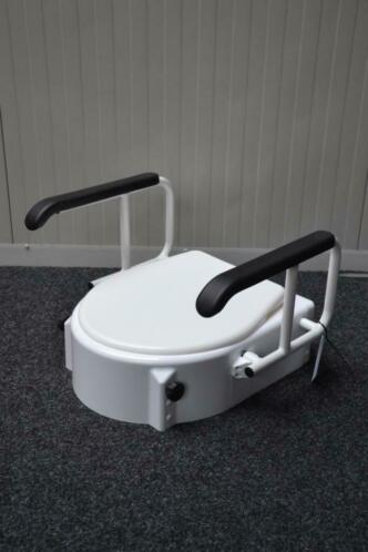 Toiletverhoger incl armsteunen GZG 2080