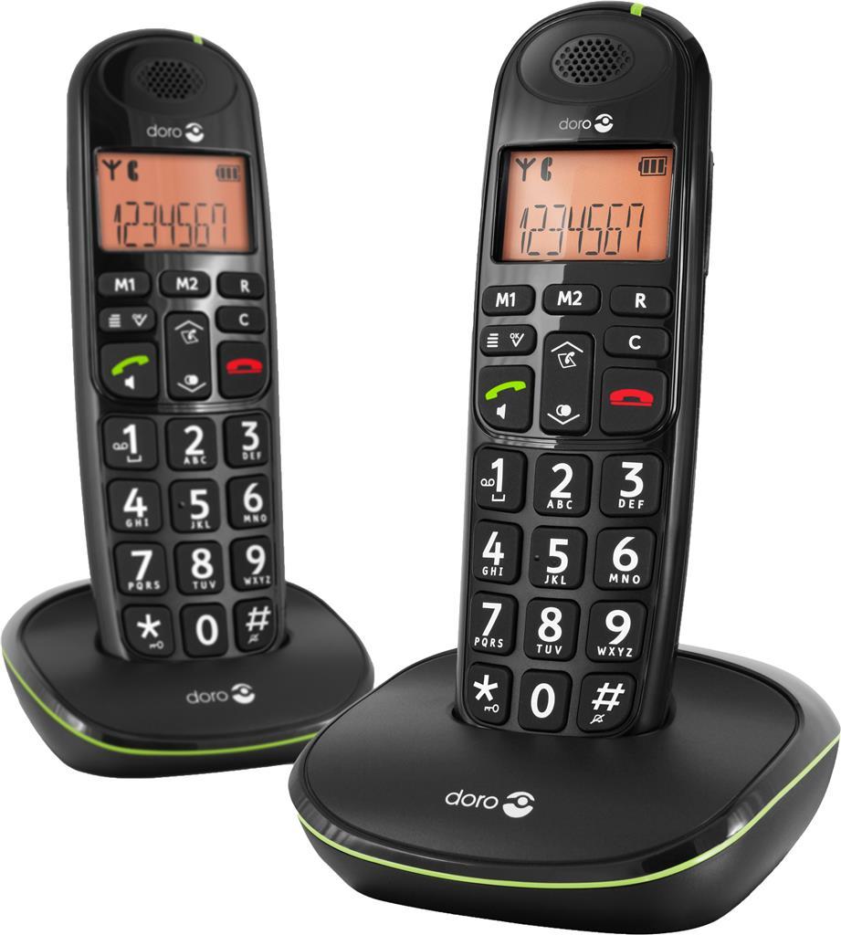 Doro 100W duo Phone Easy DECT telefoon