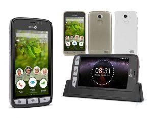Doro 8031 senioren smartphone zwart