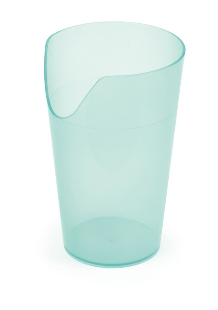 Drinkbeker incl neusuitsparing 240 ml groen