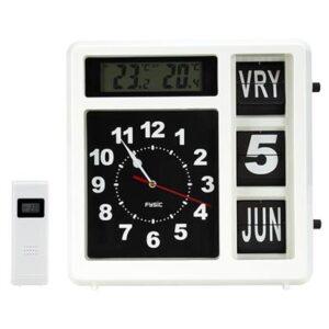 Fysic FKW-248 Kalenderklok Jumbo incl weerstation