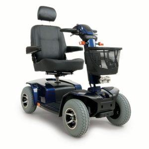 Gebruikte scootmobiel Celebrity XL blauw GERESERVEERD